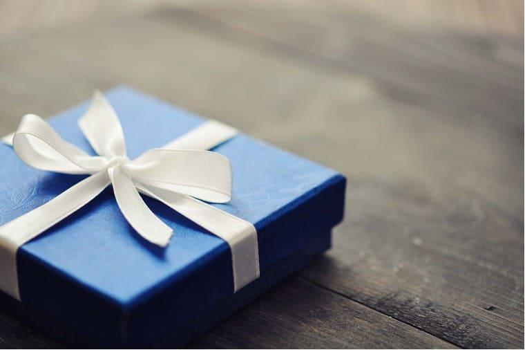 銀婚式のプレゼント