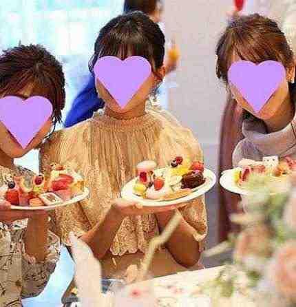 女友達の誕生日プレゼント デザートビュッフェ