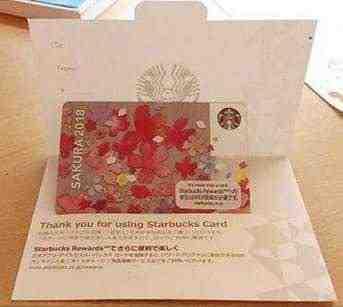 女友達の誕生日プレゼント スタバギフトカードと入れ物の封筒