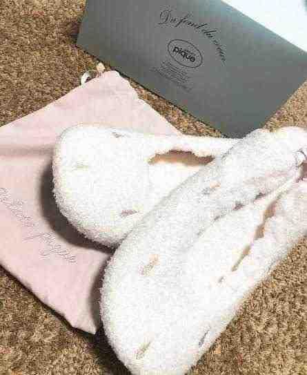 女友達の誕生日プレゼント ジェラートピケ 巾着袋と箱