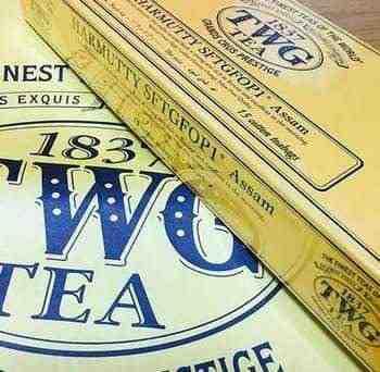 女友達の誕生日プレゼント TWGの紅茶