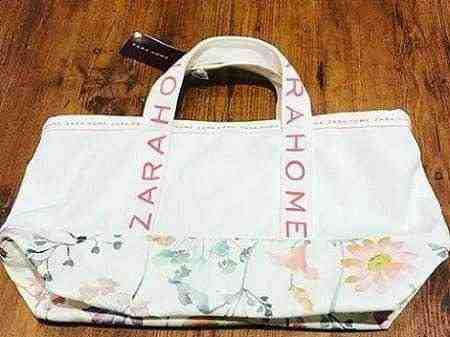 女友達の誕生日プレゼント ZARAHOMEのランチバッグ