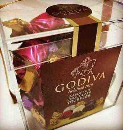 女友達の誕生日プレゼント ゴディバのチョコ アソートトリュフチョコ