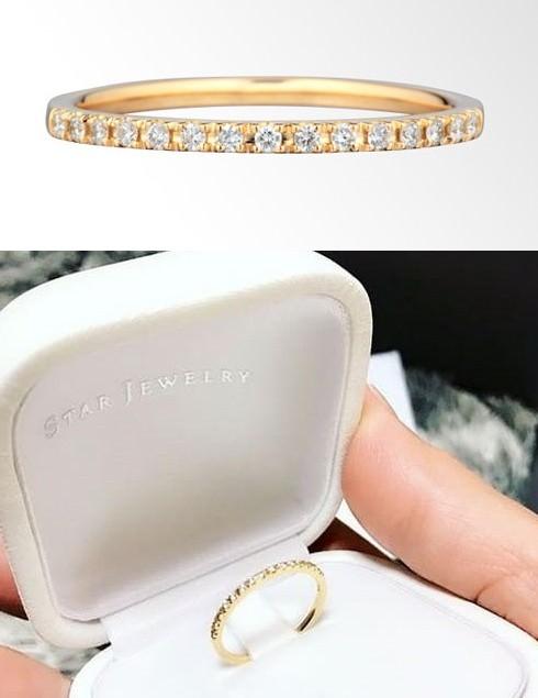 スタージュエリーの指輪